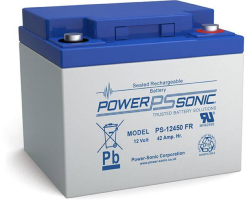 Batterie AGM PS-12450 Power Sonic / 12 V - 45 Ah C20