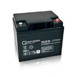 Batterie AGM cyclique 12LCP-50 QUALITY BATTERIES / 12 V 50 Ah