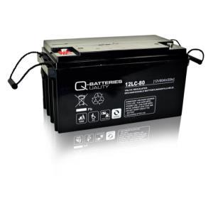 batterie agm cyclique quality batteries 12v 80 ah 12lc 80. Black Bedroom Furniture Sets. Home Design Ideas