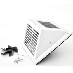 Ventilateur Solaire Fresh Breeze Blanc