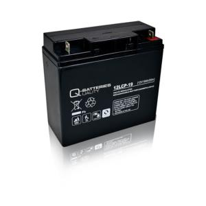 Batterie AGM cyclique 12LCP-19 QUALITY BATTERIES / 12 V 19 Ah