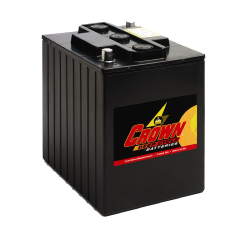 Batterie Deep Cycle US 6 V - 240 Ah / CR240E Batterie CROWN