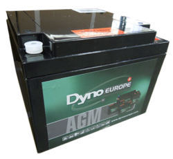 Batterie AGM cyclique DAB12-26EV DYNO EUROPE / 12 V, 29,5 Ah