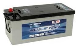 Batterie AGM ML 170B Megalight Power  MONBAT / 12V 158 Ah