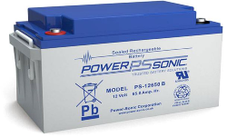 Batterie AGM PS-12650 Power Sonic / 12 V - 65 Ah C20