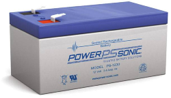 Batterie AGM PS-1230 Power Sonic / 12 V - 3.4 Ah C20