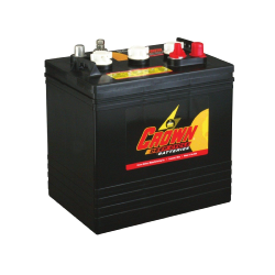 Batterie Deep Cycle US 6 V - 235 Ah / CR235 Batterie CROWN