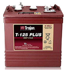 Batterie TROJAN T-125 PLUS / 6V 240 Ah