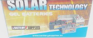 Batterie solaire Gel 12 V, 246 Ah / DGY12-200 SOLAR TECHNOLOGY