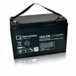 Batterie AGM cyclique 12LC-100 QUALITY BATTERIES / 12 V 107 Ah