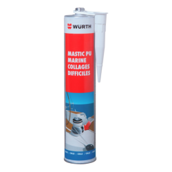 Mastic PU Marine Collages difficiles WURTH