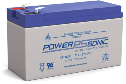 Batterie AGM PS-1270 Power Sonic / 12 V - 7.0 Ah C20