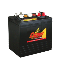 Batterie Deep Cycle US 6 V - 220 Ah / CR220 Batterie CROWN