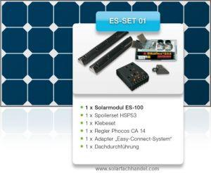 Kit solaire camping car 100 W Haut rendement