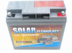Batterie solaire Gel 12 V, 59,7 Ah / DGY12-55 SOLAR TECHNOLOGY