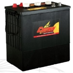 Batterie Deep Cycle US 6 V - 350 Ah / CR350 Batterie CROWN