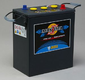Batterie tubulaire 6 V - 425 Ah / NBA MAXXIMA PLUS