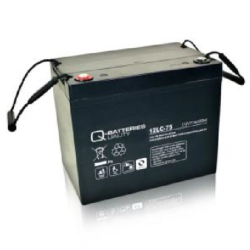 Batterie AGM cyclique 12LC-75 QUALITY BATTERIES / 12 V 77 Ah
