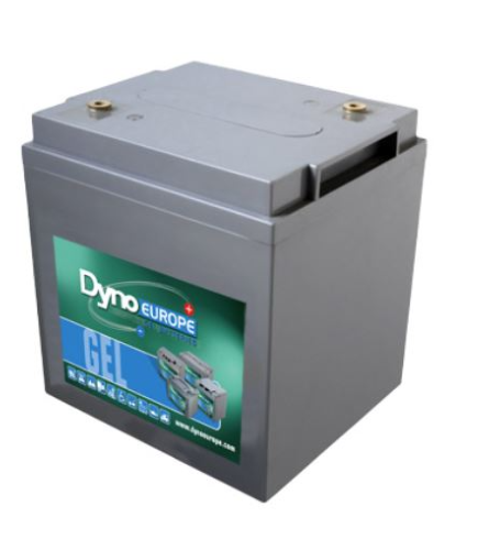 Batterie Gel 6 V, 123 Ah / DGY6-110EV DYNO EUROPE