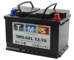 Batterie Gel 12 V, 69 Ah / TMS GEL 12-70 ACEDIS
