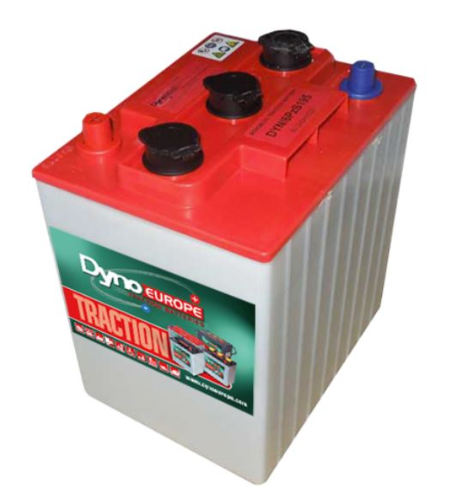 Batterie tubulaire 6 V - 220 Ah / DYNO EUROPE 6PzS195