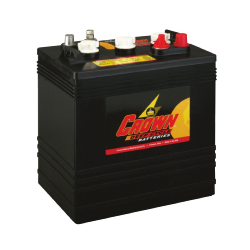 Batterie Deep Cycle US 6 V - 260 Ah / CR260 Batterie CROWN