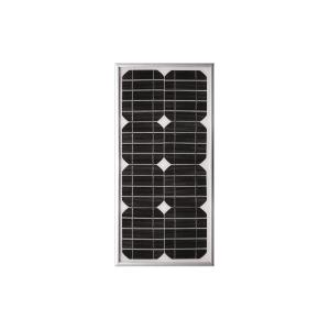 panneau solaire monocristallin 12 v 20 w. Black Bedroom Furniture Sets. Home Design Ideas