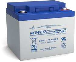Batterie AGM PS-12380 Power Sonic / 12 V - 38 Ah C20