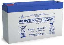 Batterie AGM PS-6100 Power Sonic / 6 V - 12 Ah C20
