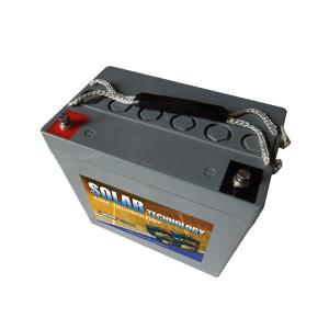 Batterie AGM 12 V, 60,7 Ah / DAB12-55 SOLAR TECHNOLOGY