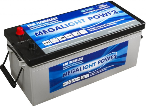Batterie AGM ML 220C Megalight Power MONBAT / 12 V 205 Ah