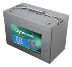 Batterie Gel 12 V, 107 Ah / DGY12-110EV DYNO EUROPE