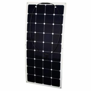 panneau solaire souple haut rendement 12 v 120 w semi flex. Black Bedroom Furniture Sets. Home Design Ideas