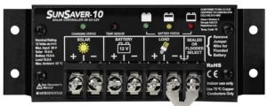 Régulateur de charge solaire 10 A 12 V SUNSAVER MORNINGSTAR SS-10L