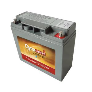 Batterie AGM cyclique 12 V, 18,5 Ah / DAB12-18EV DYNO EUROPE