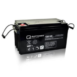 Batterie AGM cyclique 12LC-80 QUALITY BATTERIES / 12 V 80 Ah