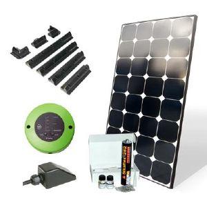 kit solaire pour camping car pr assembl 90 w. Black Bedroom Furniture Sets. Home Design Ideas