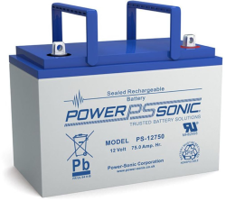 Batterie AGM PS-12750 Power Sonic / 12 V - 75 Ah C20