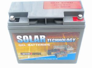 Batterie solaire Gel 12 V, 17.7 Ah / DGY12-18 SOLAR TECHNOLOGY
