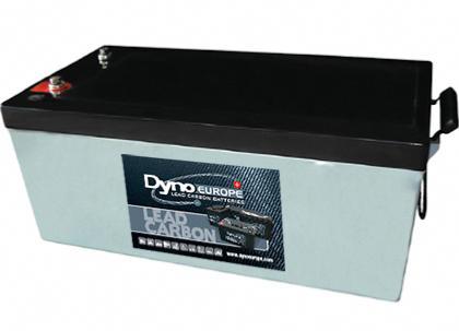 Batterie Plomb Carbone 12 V, 270 Ah   DLC12-250EV DYNO EUROPE 8ab357af1855