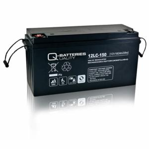 Batterie AGM cyclique 12LC-150 QUALITY BATTERIES / 12 V 150 Ah